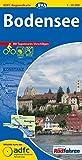 ADFC-Regionalkarte Bodensee mit Tagestouren-Vorschlägen, 1:50.000, reiß- und wetterfest, GPS-Tracks Download (ADFC-Regionalkarte 1:50000)