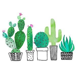 Braun & Company 1208-18268 Cactus Garden - Servilletas (20 Unidades), Color Blanco
