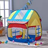 Truedays Children Play Tent for Kids Pop up Playhouse Outdoor Indoor