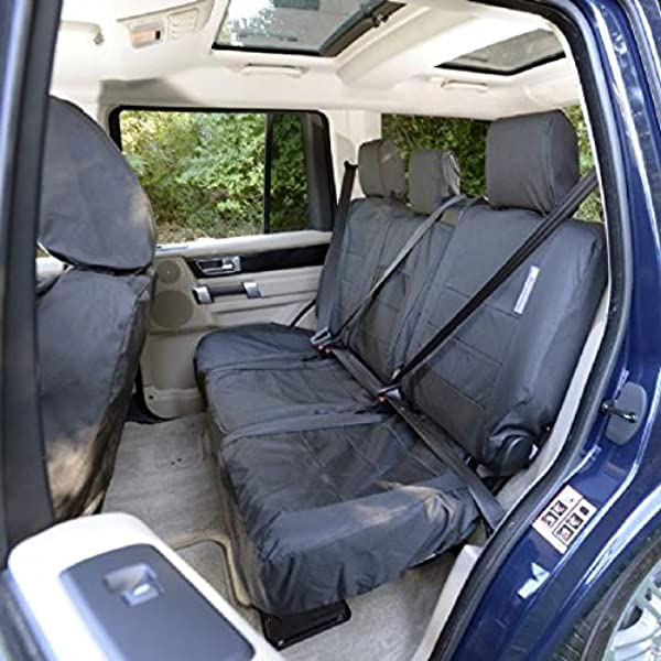 to fit Land Rover Discovery 4 MY 2009-2016 Right INKA Rear 35//30//35 Split Fully Tailored Waterporoof Seat Covers