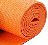 Narains Packaging 4mm Orange Yoga Mats with Bag