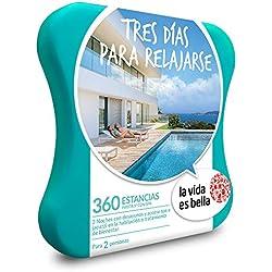 La vida es bella - Caja Regalo - Tres DÍAS para Relajarse - 360 hoteles de hasta 5* con Acceso a SPA