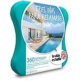 LA VIDA ES BELLA - Caja Regalo - TRES DÍAS PARA RELAJARSE - 360 hoteles de hasta 5* con acceso spa