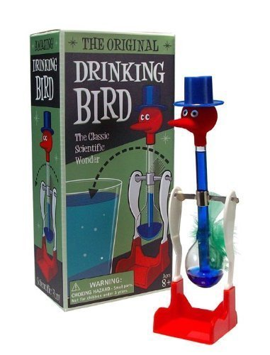 Famous Lucky Drinking Bird-classic Perpetual Motion Machine by WESTMINSTER [Toy] (English Manual)