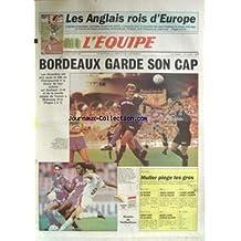 EQUIPE (L') [No 13452] du 07/08/1989 - LES ANGLAIS ROIS D'EUROPE - BORDEAUX GARDE SON CAP - CYLISME - MULLER - NATATION - BIONDI - MOTO - EDDIE LAWSON - AUTO - LOUBET- ANDRIE - EQUITATION - SIMON - GOLF - MARIE-LAURE.