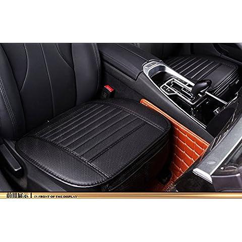 EDEALYN cojín de piel sintética Universal para asiento de coche, para interior, fundas de asiento