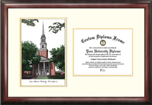 Christian University Gelehrten Diplom Rahmen, 21,6x 27,9cm (Christian Gerahmte Bilder)