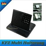 KFZ Auto Handy Halterung GPS Navi Halterung Handyhalter Handyständer mit Anti Rutsch Matte