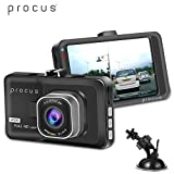 #1: PROCUS Convoy Car Dash Camera, HD 1080P, 3