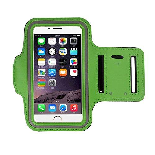 Fascia da braccio iPhone X bracciale sportivo iPhone X fascia braccio iPhone X braccialetto sportivo iPhone X fascia sportiva da braccio iPhone X fascia braccio running iPhone X verde