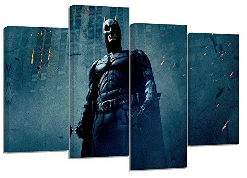(Batman Dark Night Set von 4neue Leinwand Split Prints 81,3x 50,8cm)