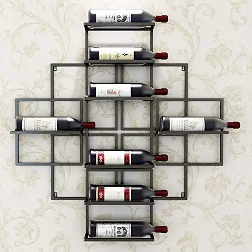 Europäischen Modernen Minimalistischen An Der Wand Befestigten 8 Flaschen Weinregal Kreative Wand...