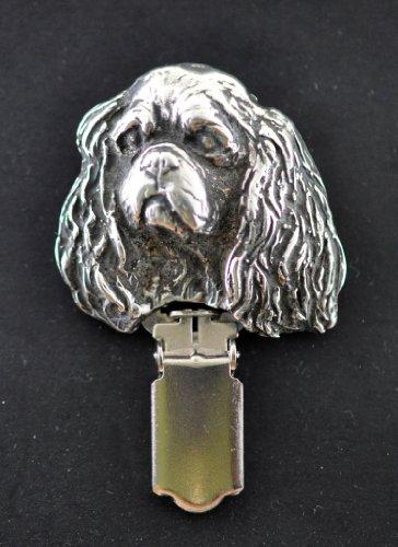 Cavalier King Charles, Hund, Hund clipring, Hundeausstellung Ringclip/Rufnummerninhaber, limitierte Auflage, Artdog - 2