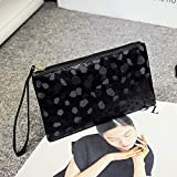 Yazidan Mode Frauen Abend Party Clutch Bag Make-up Tasche Pailletten Funkelnde Bling Bequem Cocktailparty-Handtasche Geldbörse Kosmetiktasche Waschtasche für Frauen, Waschbeutel in Premium-Qualität
