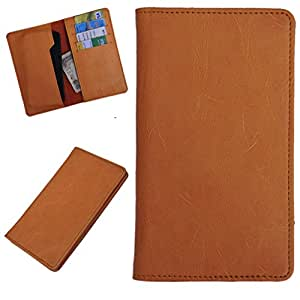 DCR Pu Leather case cover for Lenovo S860 (orange)