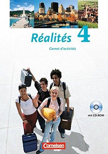 Réalités - Aktuelle Ausgabe / Band 4 - Carnet d´activités mit CD-ROM,