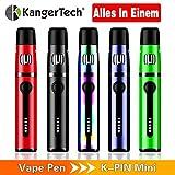 Die besten E Cig Kits - E Zigarette Kangertech KPIN Mini 1500mAh wiederaufladbare Batterie Bewertungen