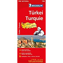 Türkei (Michelin Nationalkarte)