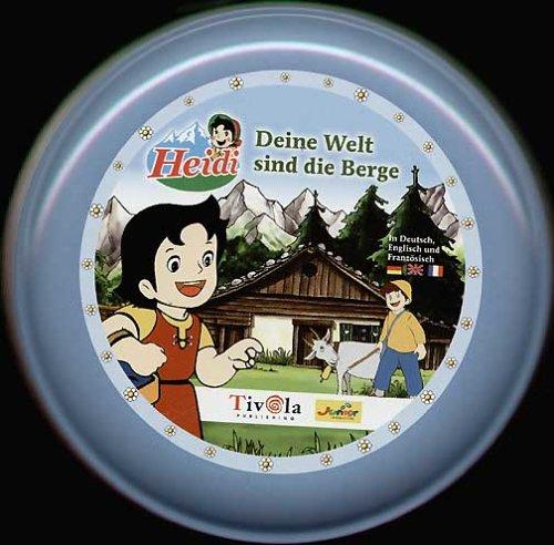 Heidi, Deine Welt sind die Berge, 1 CD-ROM in Schmuck-DoseDtsch.-Engl.-Französ. Ausgezeichnet mit dem Software-Preis Giga-Maus 2004. Für Windows 98/ME/2000/XP und MacOS X: OS 10.1.2