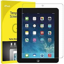 JETech Film de Protection d'écran pour iPad 4, iPad 3 et iPad 2 en Verre Trempé