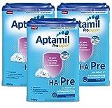 Aptamil ProExpert HA PRE, Hypoallergene Anfangsmilch, EazyPack, 3er Pack (3 x 800g)