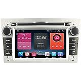 autosion en Dash Unidad principal de Android 6.0Radio de coche reproductor de DVD GPS navegación estéreo plata para Opel Astra, Vectra, Corsa Antara Combo Vivaro Zafira Meriva apoyo bluetooth sd usb radio WIFI OBD DVR 1080P