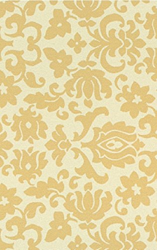 i.stHOME Klebefolie Barock Ornament beige - Möbelfolie selbstklebend 45x200 cm Dekorfolie