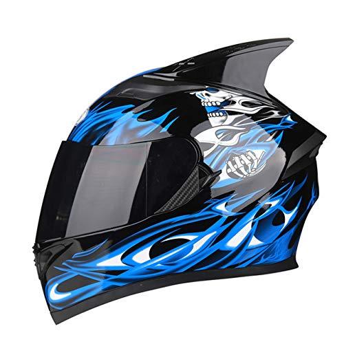 Berrd Casco moto Flip Casco motocross Casco moto integrale Casco moto con visiera parasole interna modulare nera R1-607-FL