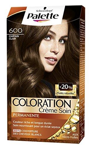 Schwarzkopf - Palette - Coloration Permanente - Châtain Clair 600