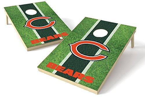 Proline Kornloch-Set NFL Felddesign, 60 x 90 cm, Chicago Bears 2x3 Cornhole Board Set - Field, Team Color, 2' x 3'