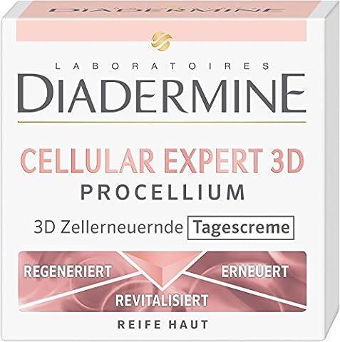 Diadermine Tagescreme Cellular Expert 3D Procellium, 1er Pack (1 x 50 ml) (Cellular Tagescreme)
