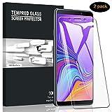 A-VIDET Panzerglas für Galaxy A9 2018 Vollschutz-mit Ultra-Stärke Ultra-klare Transparenz Schutzfolie Bildschirmfolie für Samsung Galaxy A9 2018 (2 Stück)