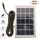 i-Solarlite 2.5W5V Solar Panel with 5 Meter Cable for Mobile Charging | Solar Mobile Charging