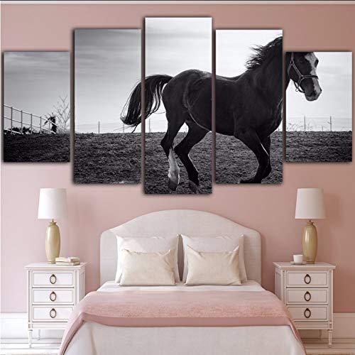 r Pferd Leinwand Malerei Cuadros Decoracion Salon Wandmalerei Wandbilder,40X60/80/100Cmwiwhy ()