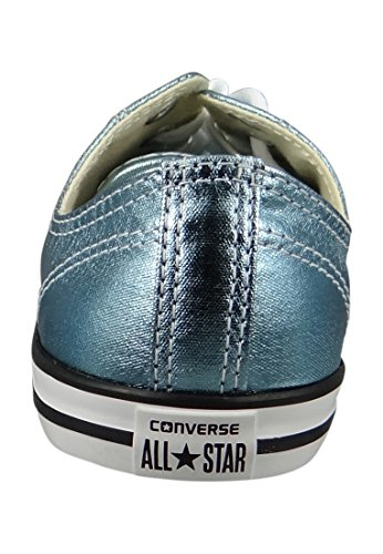 Scarpe All Star Metallic Dainty Ox Converse (Blu Coast - Blu/Nero) Blu Coast