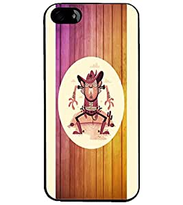 PrintDhaba Tom Boy D-5859 Back Case Cover for APPLE IPHONE 5S (Multi-Coloured)