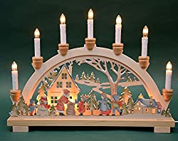 Candle Arch Candle Holder Christmas 10flamed Indoor Christmas Xmas Gift Gift Decoration (10792)