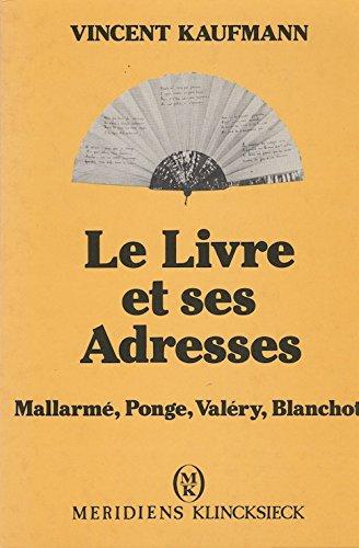 Le livre et ses adresses