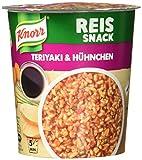 Knorr Reis Snack Teriyaki und Hühnchen Becher, 81 g