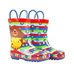 Vanilla Underground Hey Duggee Boys Wellies Childrens Wellington Carry Handle Snow Boots Red