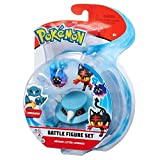 Pokemon Box 3 Figuras Metang + Flamiaou + Cosmog Original WCT Battle Figure Set