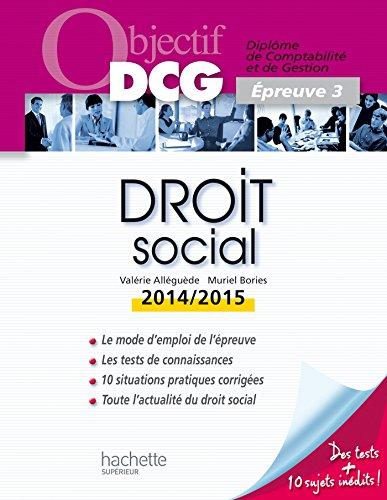 Droit social : Epreuve 3 par Valérie Alléguède, Muriel Brosset-Bories