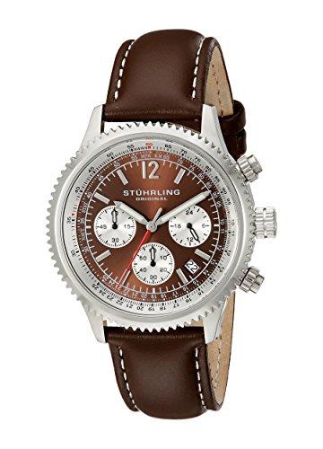 516ChtdrqBL - Stuhrling Original Brown Mens 669.03 watch