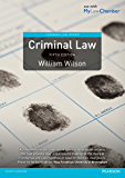 Criminal Law (Longman Law Series)