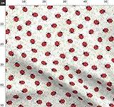 Marienkäfer, Botanisch, Skizzieren, Wasserfarben, Rot