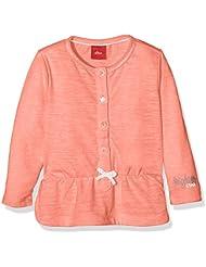 s.Oliver Aus Melangegarn, T-Shirt Manches Longues Bébé Fille