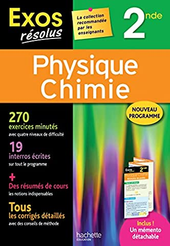 Livre Physique Chimie - Exos Résolus - Physique-Chimie