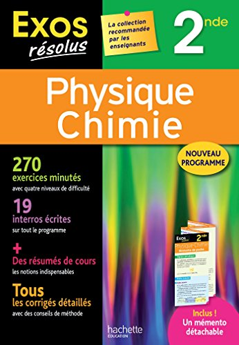 Exos Rsolus - Physique-Chimie 2nde
