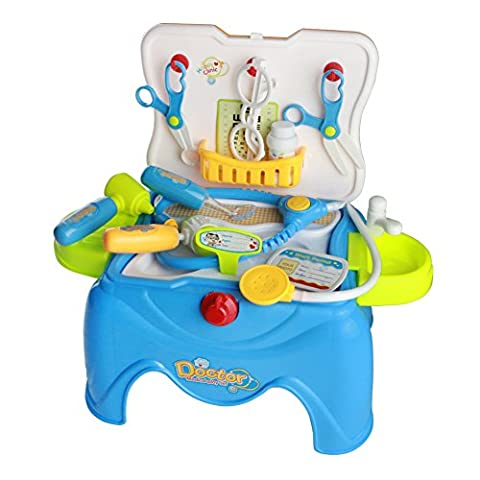 Doctor Medical Play Set Tool for Children in Removable Carrycase