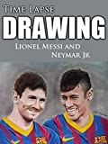 Clip: Time Lapse Drawing Lionel Messi and Neymar Jr [OV]